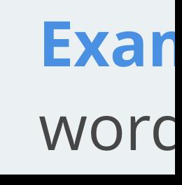 Standard text size