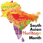 South Asian Heritage Month logo