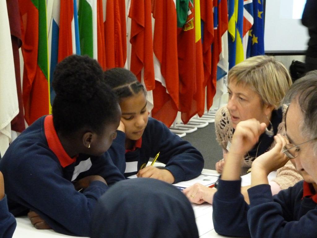 Photograph of SST education workshop