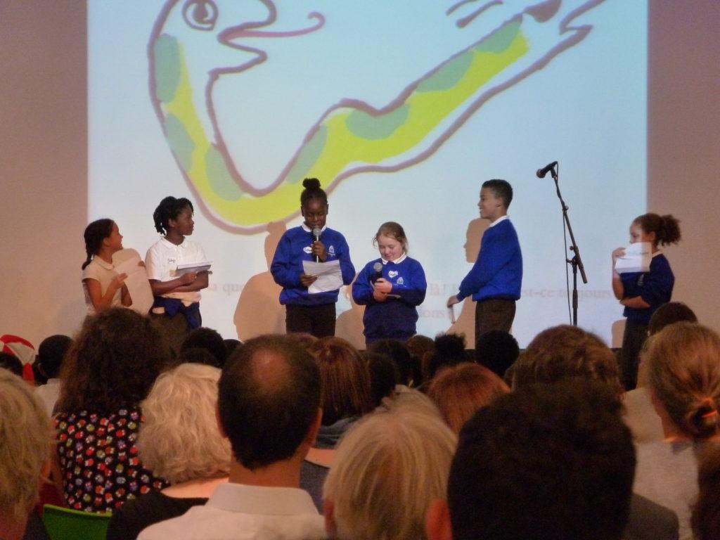Photograph of The Big Translate performance