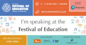 Festival of Education banner